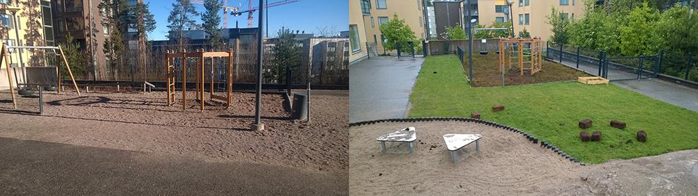 paivakodin pihat - Creches na Finlândia construíram um 'piso de floresta' e mudou o sistema imunológico das crianças