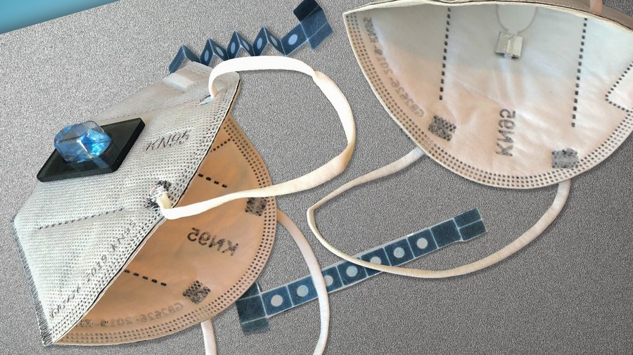 mit sensor mask - Esta máscara facial pode dizer se você tem COVID-19